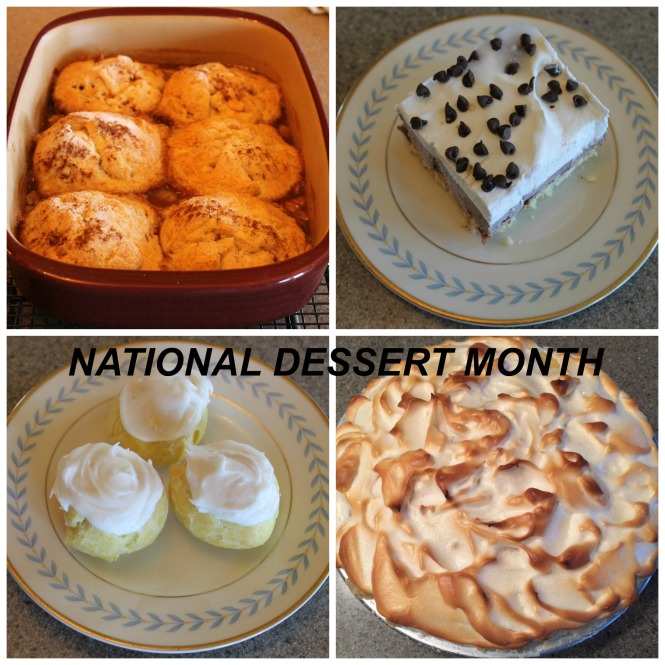 national-dessert-month