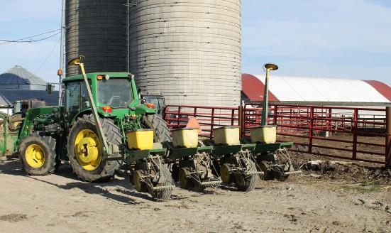 Sweet Corn Planter